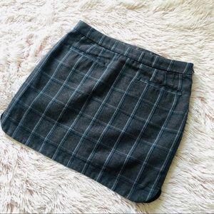 3 for $30 Plaid Gap Mini Skirt
